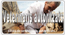 Veterinarios autorizados