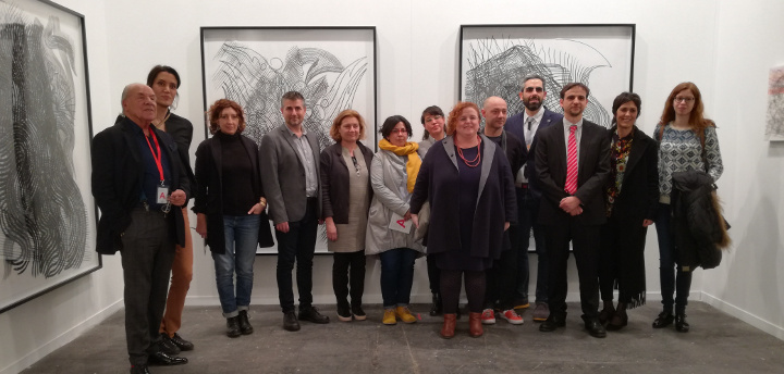 4 galeries i 40 artistes visuals participen en la fira d'art contemporani de Madrid