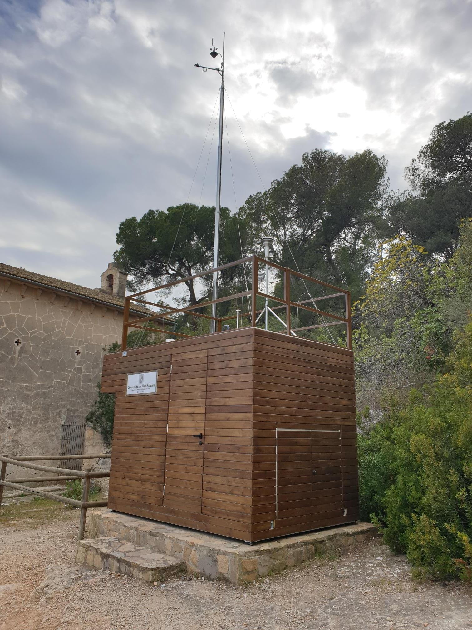 Estació de Parc de Bellver - Palma de Mallorca (Mallorca) - Xarxa balear de vigilància i control de la qualitat de l'aire.